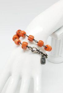 Kary Kjesbo Designs Bracelet Yemen Coral 10-12mm