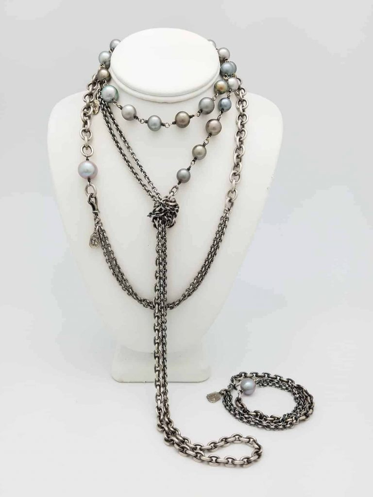 Necklace Pearls 2 necks 54 23 bracelet 3.17