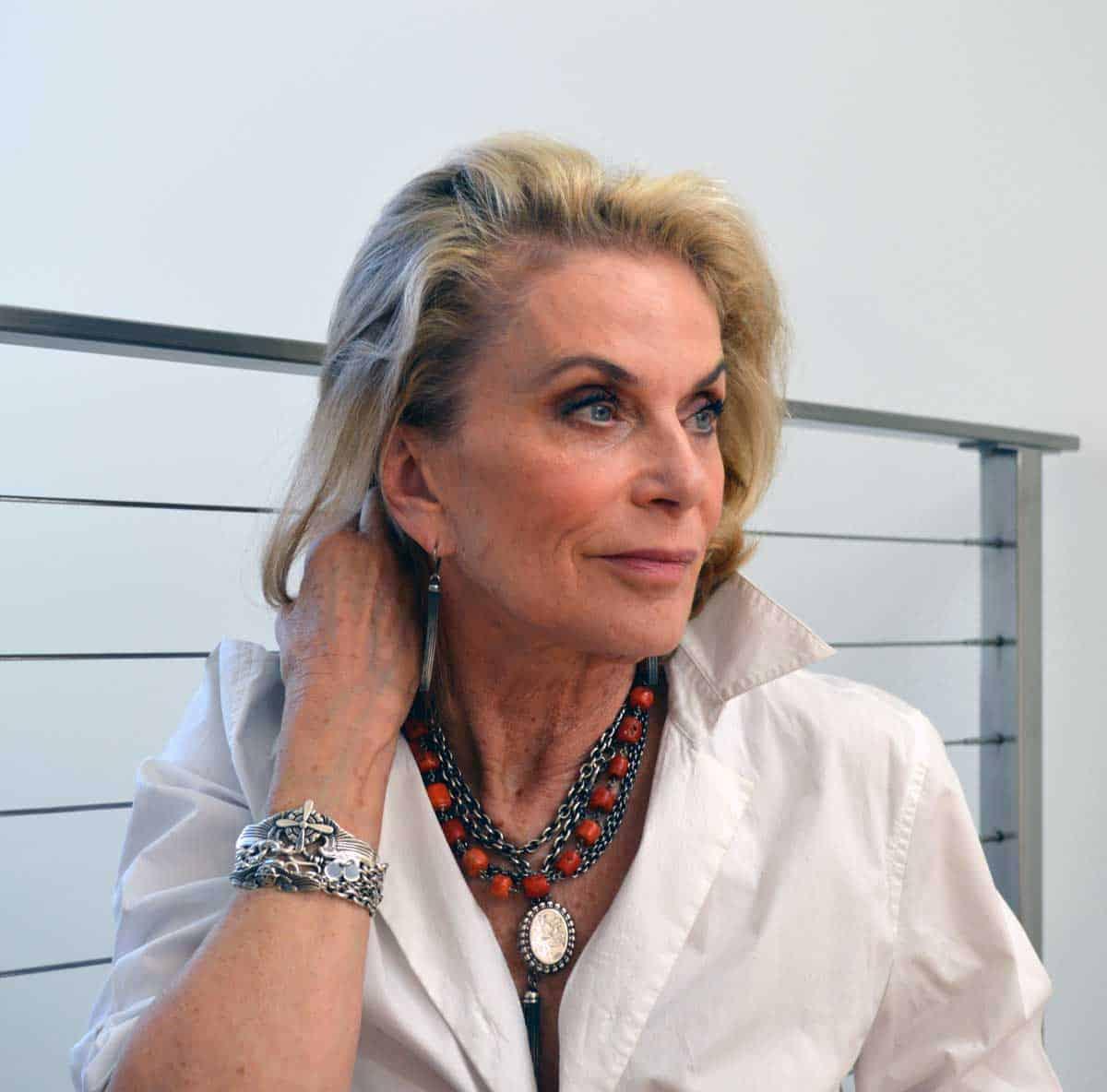 Chantal Westerman wearing Kary Kjesbo Designs jewelry