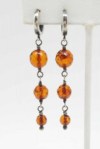 Kary Kjesbo Designs Amber 3 drops 6-9mm
