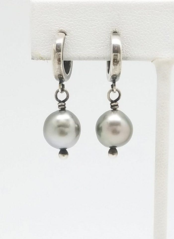 Kary Kjesbo Designs South Sea pearl earrings 9mm