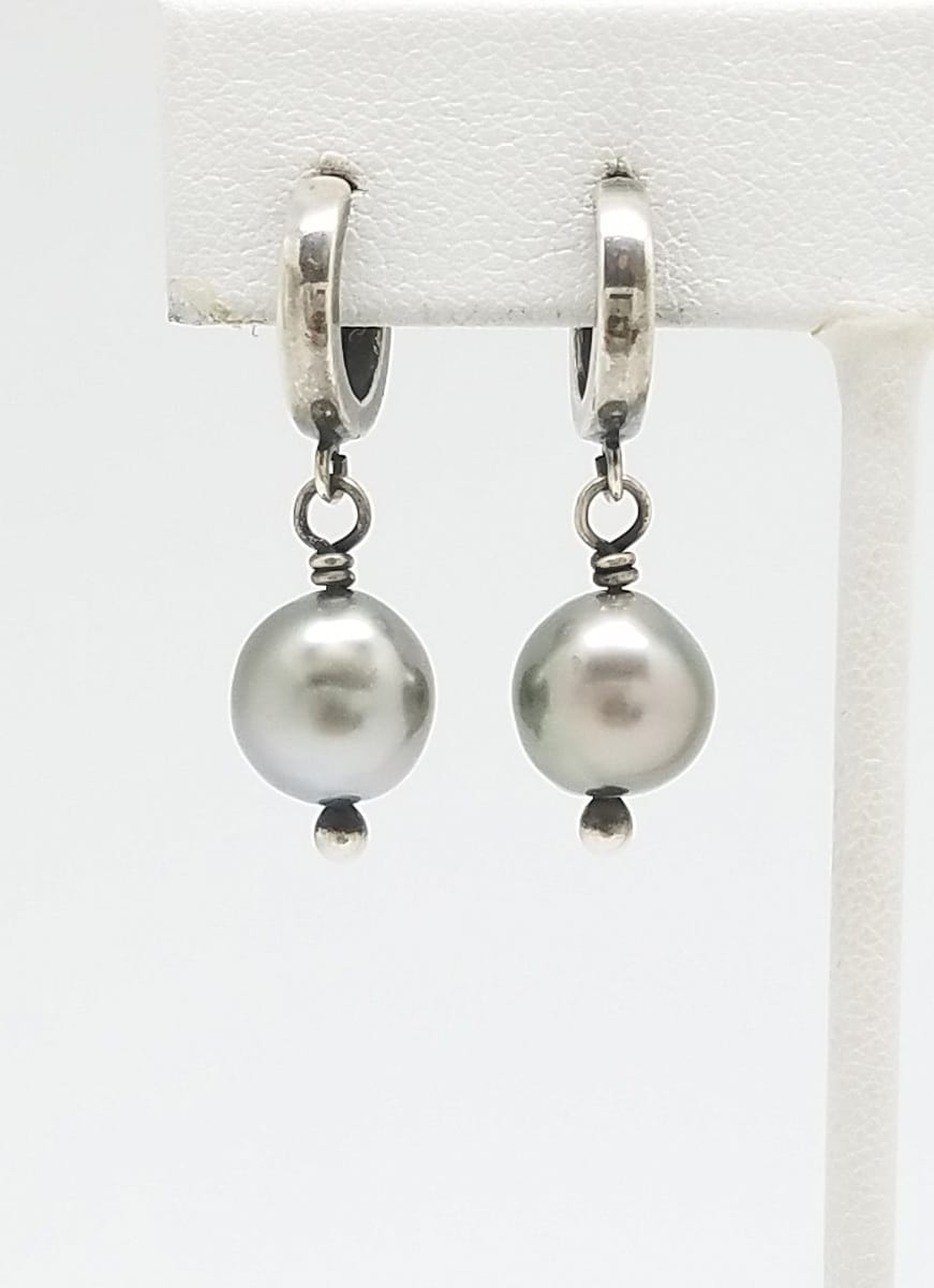 Kary Kjesbo Designs South Sea pearl earrings 9mm