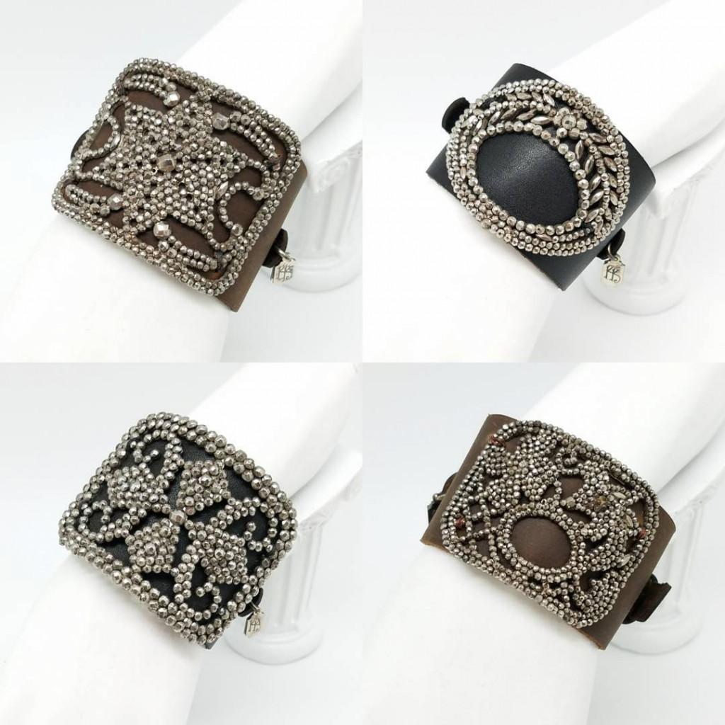 Kary Kjesbo Designs cuff bracelets Winter 2017-18