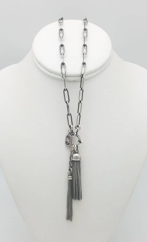Victorian Style long link Necklace (long)
