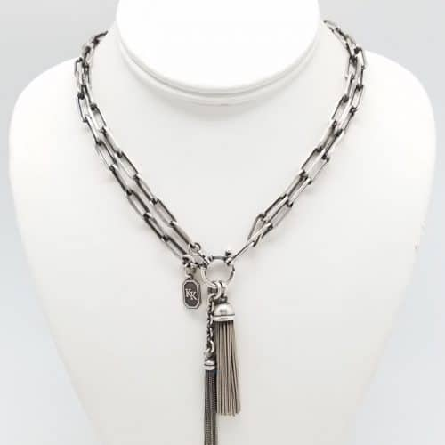 Victorian Style long link Necklace (short)