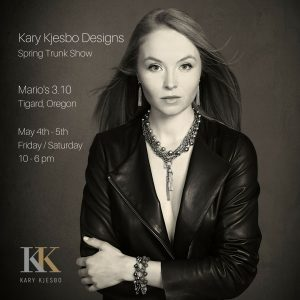 Kary Kjesbo Designs Trunk Show Portland May 2018